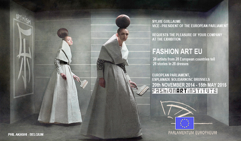 Invitación parlamento europeo Phil_Akashi_Fashion_Art_Eu_0