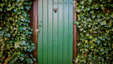 Las puertas de madera natural. Háztelas tú mismo