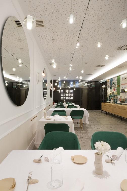Restaurante en Logroño Juan Carlos Ferrando. Diseño interior