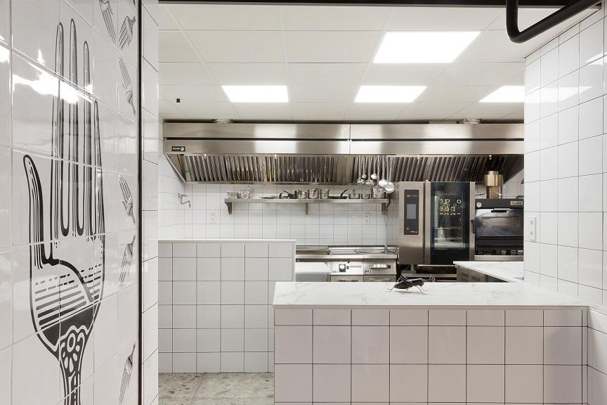 Restaurante en Logroño Juan Carlos Ferrando. Diseño interior cocina