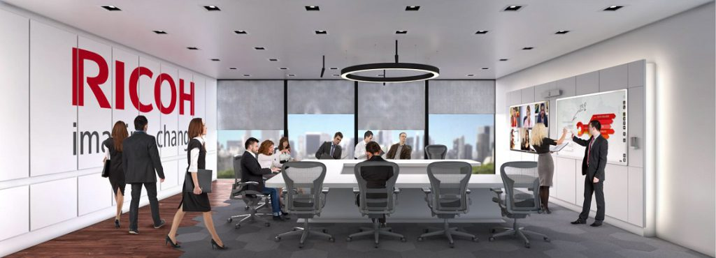 Ricoh acuerdo 3G smart group. Transformación digital espacios de trabajo
