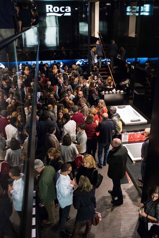 Roca Madrid Gallery. A que sabe un Premio Nacional de Diseño. Diseño y Gastronomia 1 .