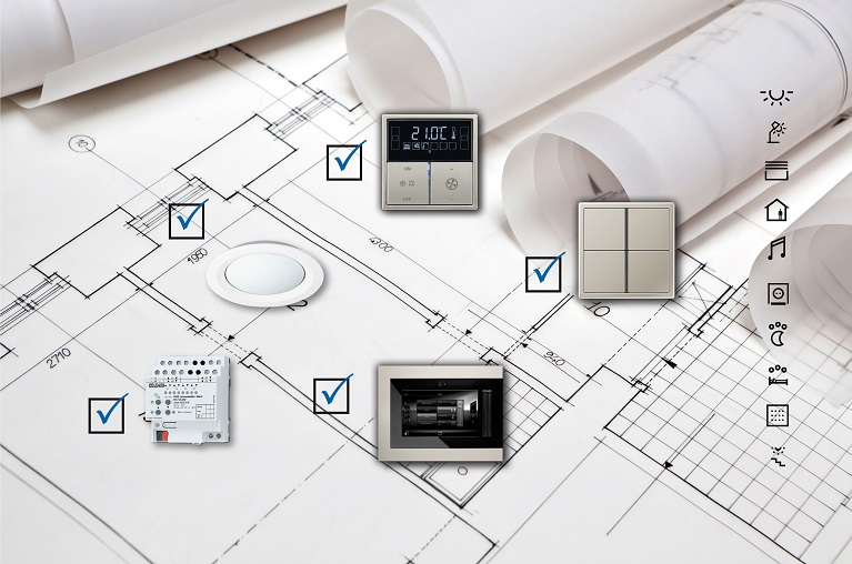 SD Solución Domótica - Jung Sistema SD Jung domotica intuitiva plug & play facil instalacion
