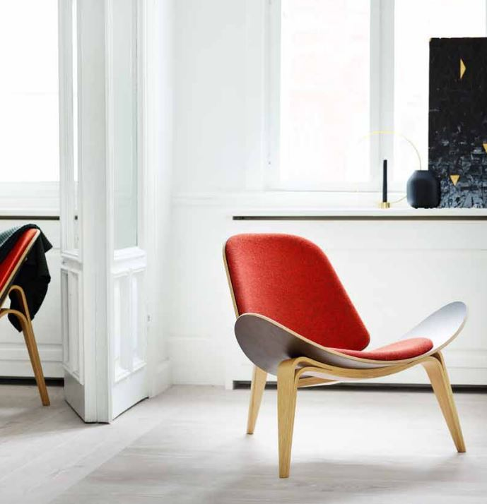 SHELL CHAIR WEGNER PARA CARL HANSEN& SON . WEGNER CHAIR