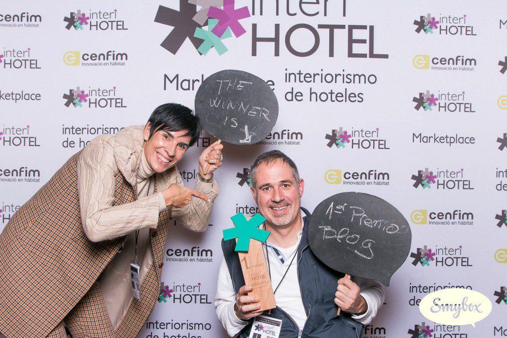 KITY GARRIDO ganador de la II Edición del Premio InteriHotel