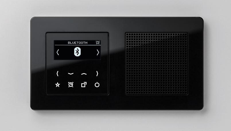 SMART RADIO DAB JUNG ACABADO NEGRO