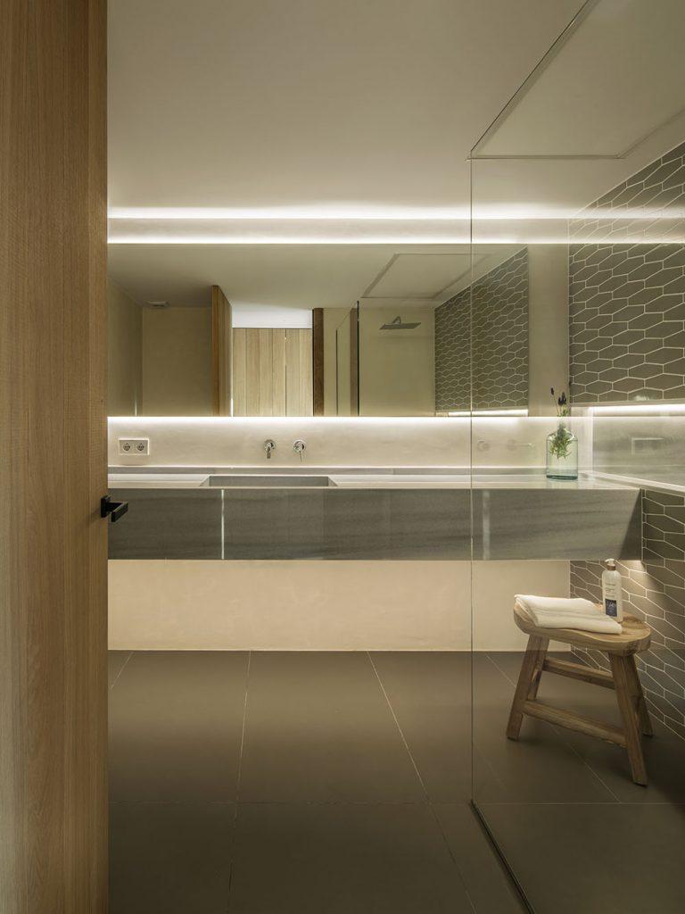 Concepto diseño Slow decoracion. SUSANNA COTS OXYGEN SLOW DESIGN . Diseño Baño Suite principal.