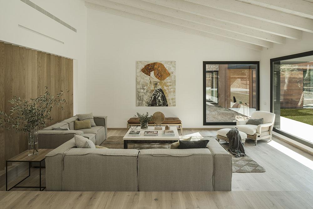 Concepto diseño Slow decoracion. SUSANNA COTS OXYGEN SLOW DESIGN . Vivienda del Ampurdan