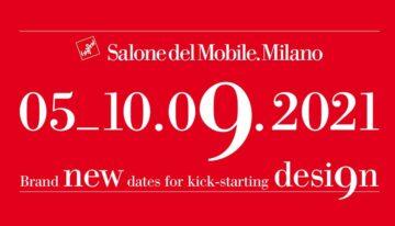 SALONE DEL MOBILE 2021. 9 manifestaciones en 1. Del 5 al 10 de septiembre.