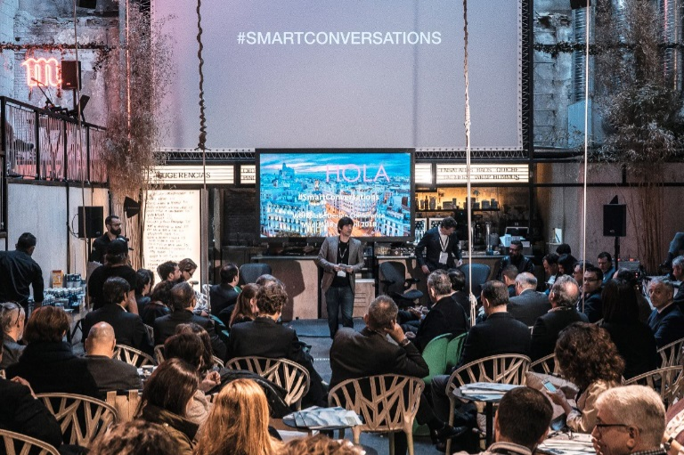 SmartConversation Madrid Sala Equis