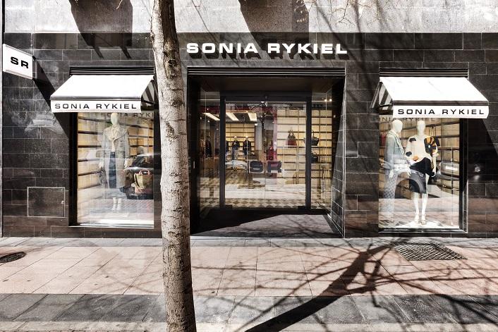 Sonia Rykiel en Madrid ByManoloYllera . Fachada Claudio Coello Vudafieri-Saverino Partners