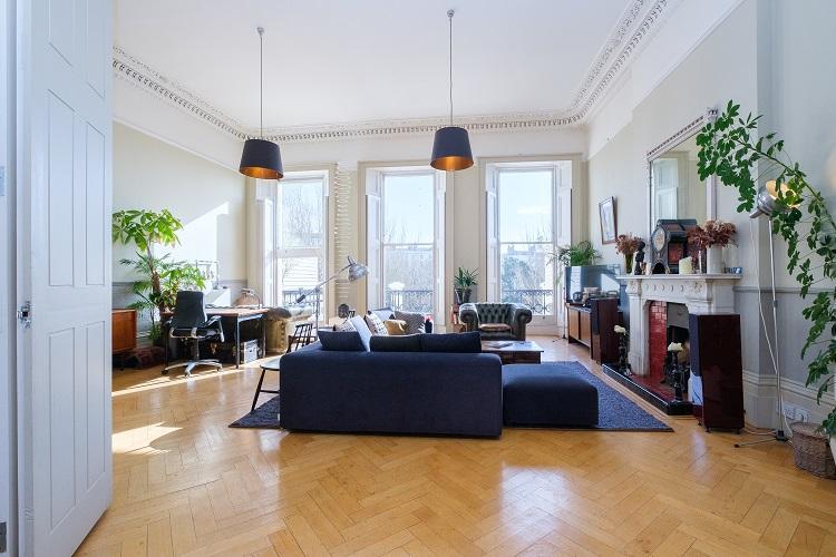 Stunning Regency Apartment with Seaviews . Diseño de interiores inspirado en los Bridgerton