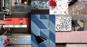 6 TENDENCIAS decorativas para 2019 en cerámica