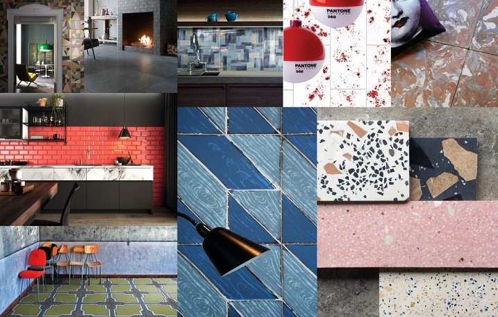 Tendencias decorativas en ceramica 2019. Tendencias cerámicas 2019