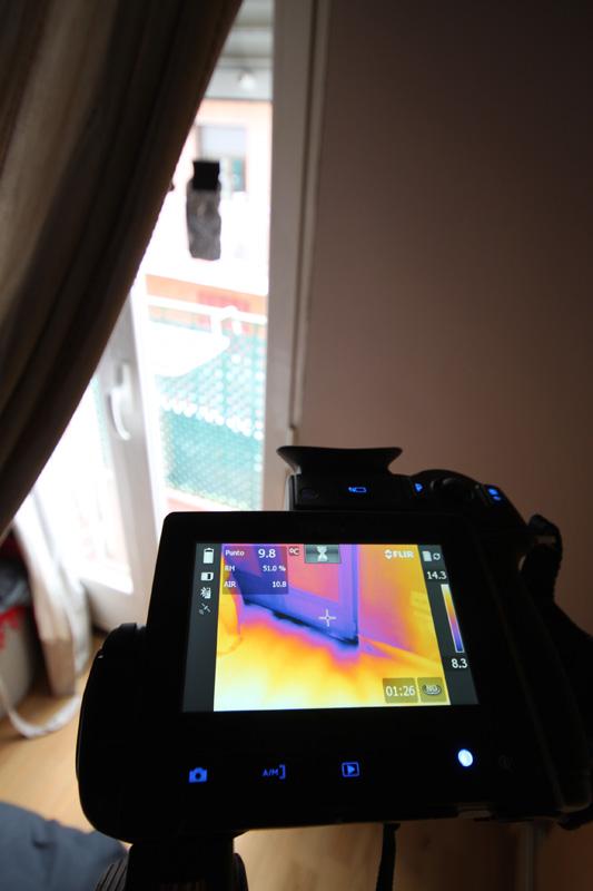 Termografía de ventanas