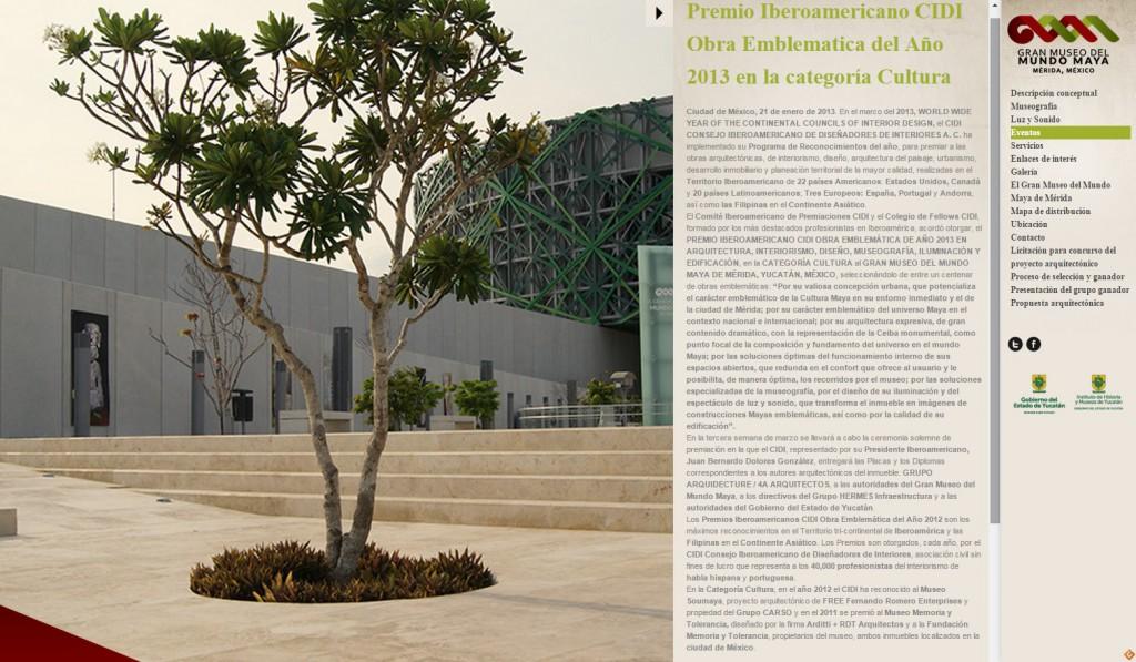 WEB MUSEO DEL MUNDO MAYA