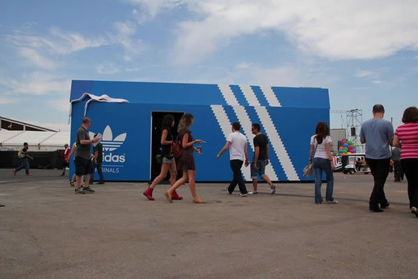 adidas pop up store