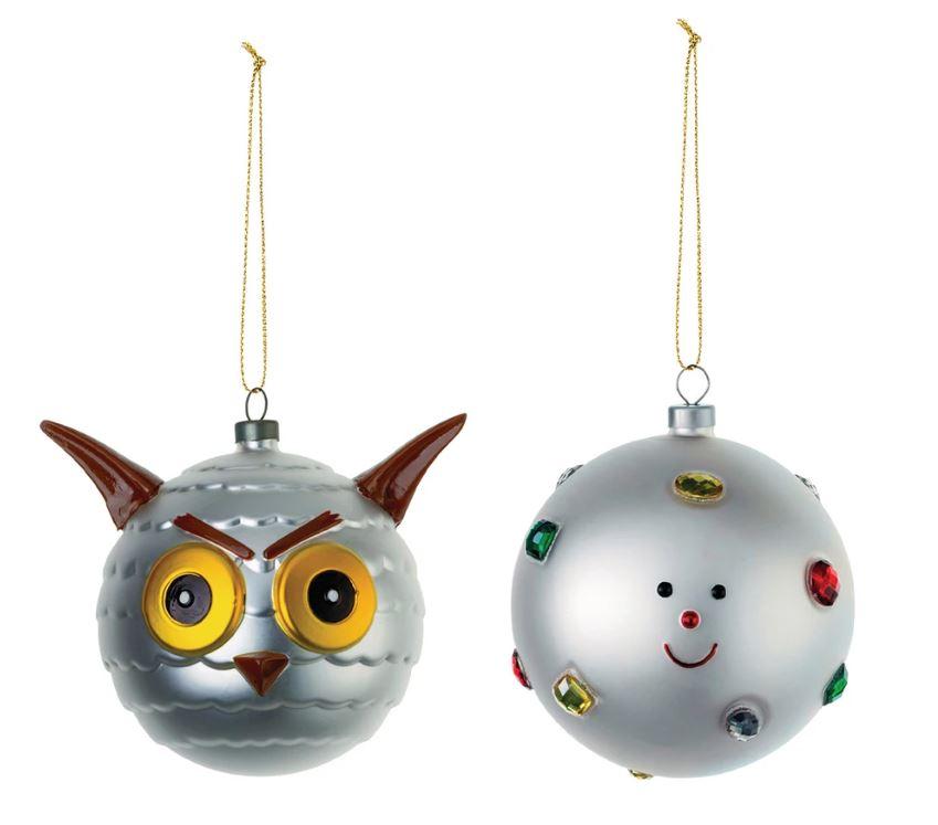 adornos de navidad originales. Bolas Alessi