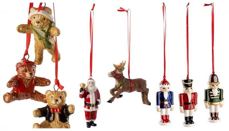 adornos de navidad originales. Figuras en ceramica Villeroy Boch