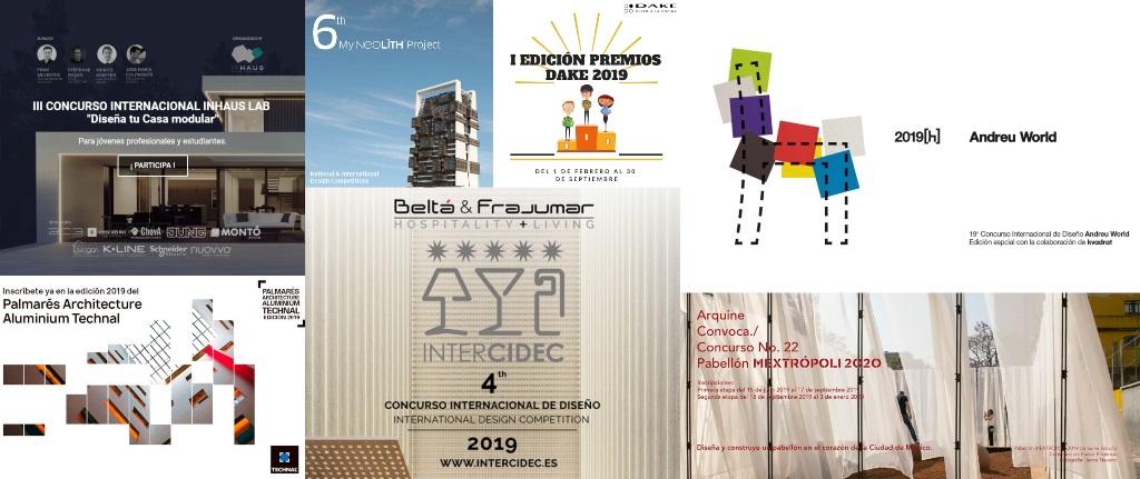 agosto 19  concursos de diseño en vigor