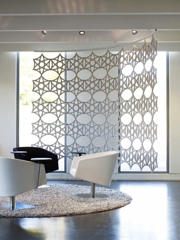 airflake abstracta. Espacio Aretha. Soluciones acústicas para oficinas colaborativas . Oficinas colaborativas