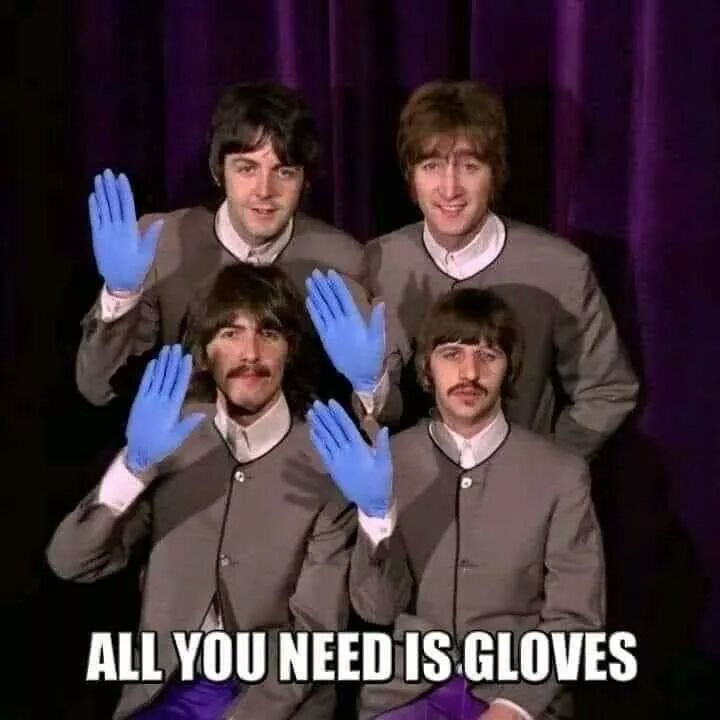 all you need is gloves - ganchos higiénicos