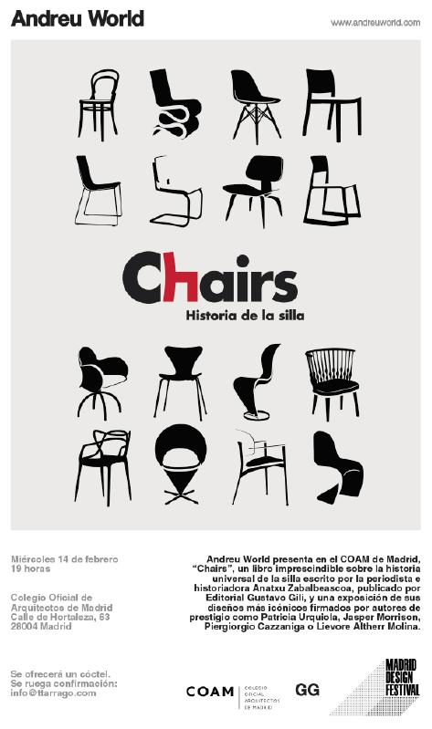 andreu world en el coam. madrid design festival