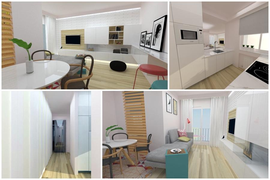Propuesta de diseño de apartamento