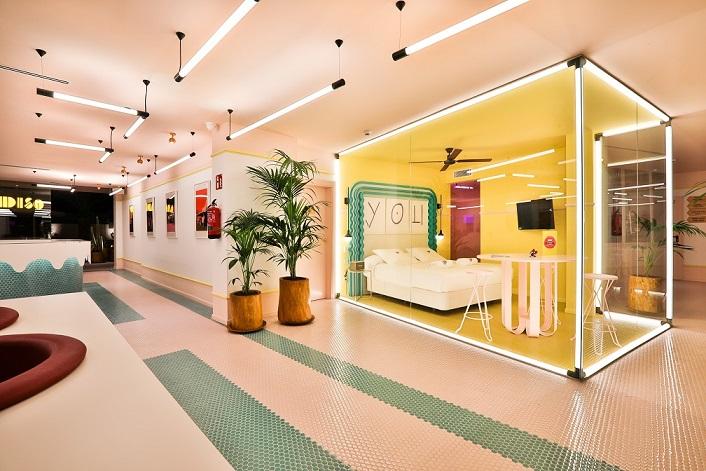 paradiso ibiza art hotel Diseño ilmiodesign. Consigue una habitacion gratis durmiendo aquí.. Zero Suite