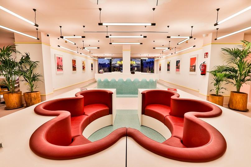 art hotel paradiso Ibiza. Diseño il miodesign. hall hotel