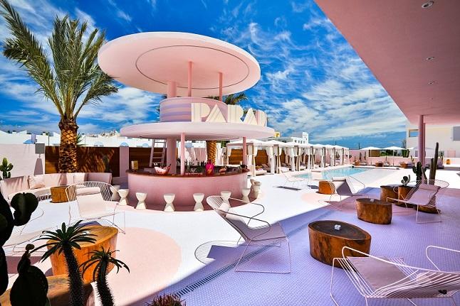 art hotel paradiso ibiza. Diseño ilmiodesign. Terraza piscina Paradiso Ibiza Art Hotel