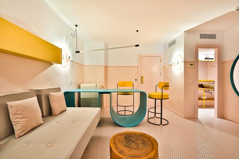 art hotel paradiso ibiza. Diseño ilmiodesign.habitacion. paradiso ibiza art hotel