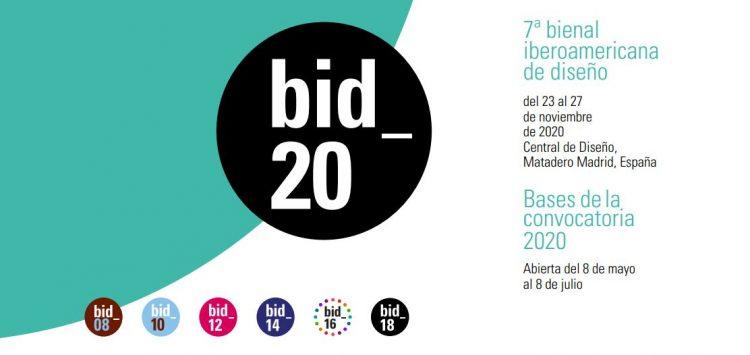 concursos de diseño 2020. Bienal iberoamericana de diseño 2020