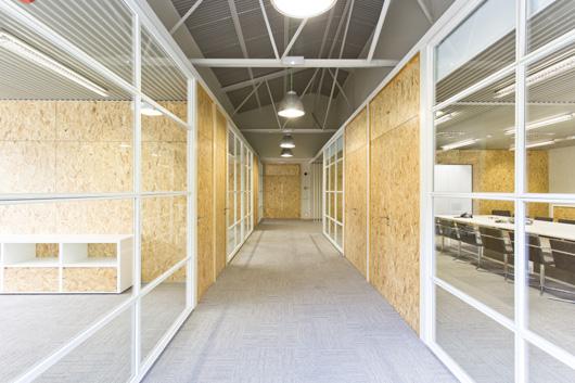 Oficinas de CACAOLAT en Barcelona. Proyecto Pilar Líbano y Jaume Pons
