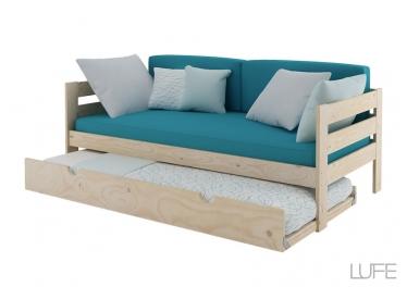 cama-nido-sofa-completa en madera barata de muebles lufe el ikea vasco