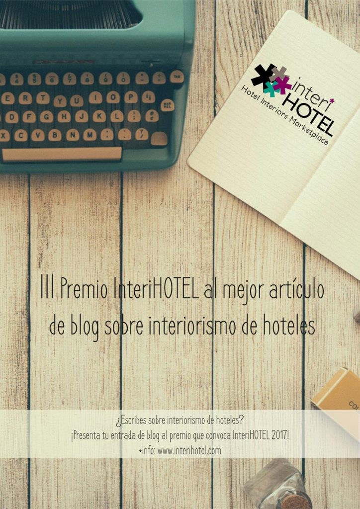 PREMIO INTERIHOTEL BLOG SOBRE INTERIORISMO DE HOTELES