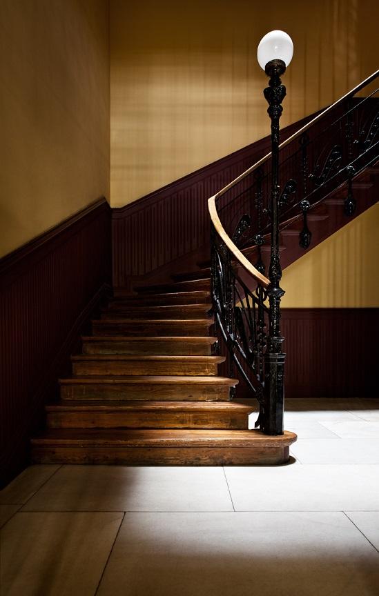 casa decor 2018 the corner group francisco de rojas 2 detalles escalera modernista
