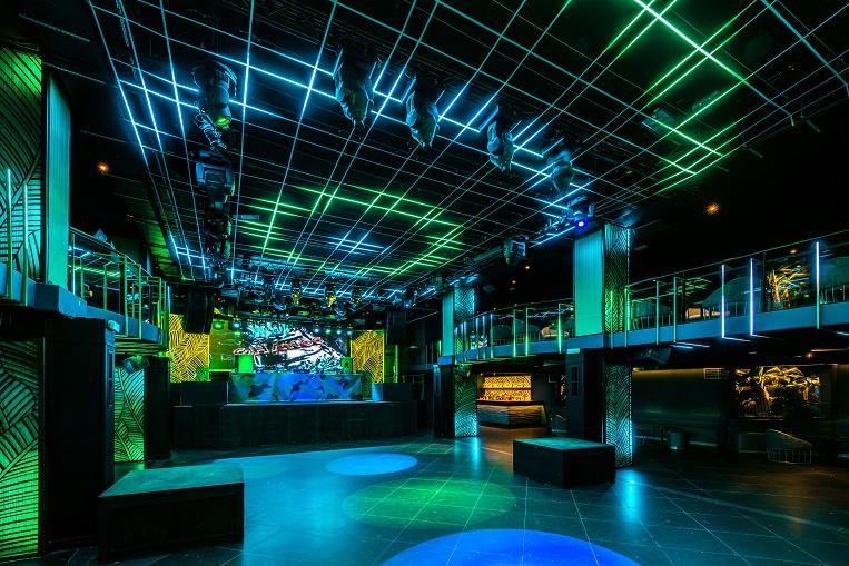 chango club discoteca Madrid. Diseño Cuarto Interior. asientos tonella sancal. iluminación led cambios de diseño