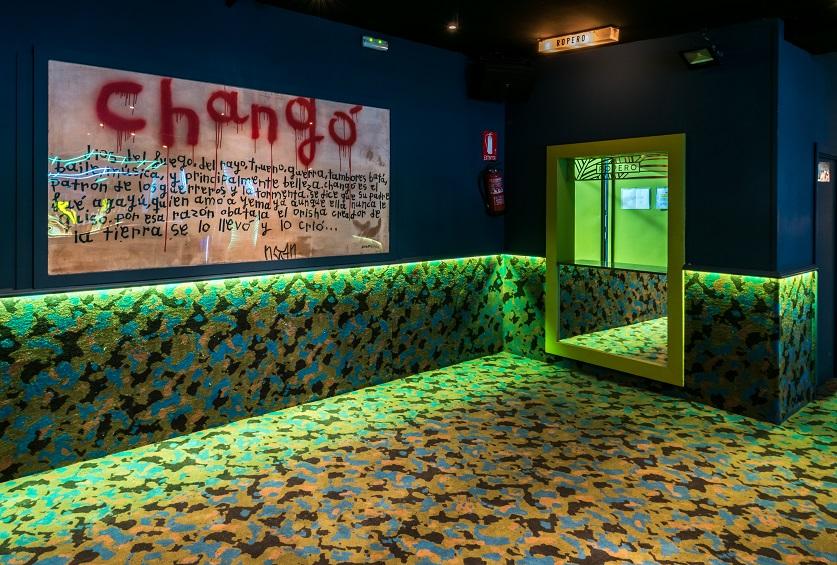 chango club discoteca Madrid. Diseño Cuarto Interior. iluminacion led Tao Necsum