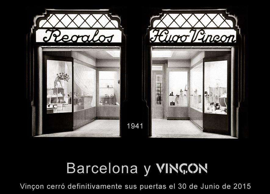 cierre de vinçon. Vincon Barcelona,  una tienda con historia