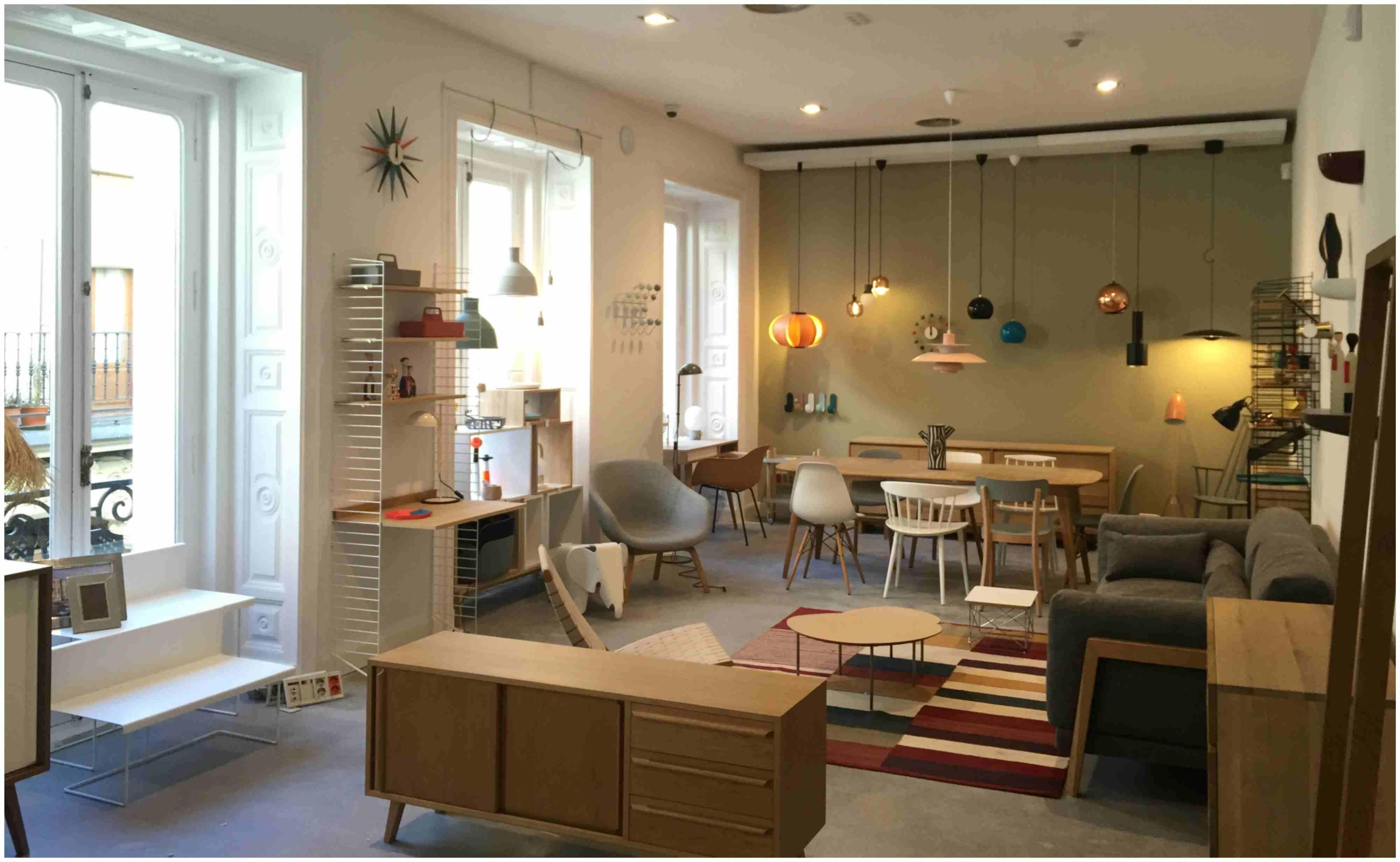 Clave diseno de espacios comerciales 3g office Raul Escudero. EL PARACAIDISTA MALASAnA MADRID rETAIL