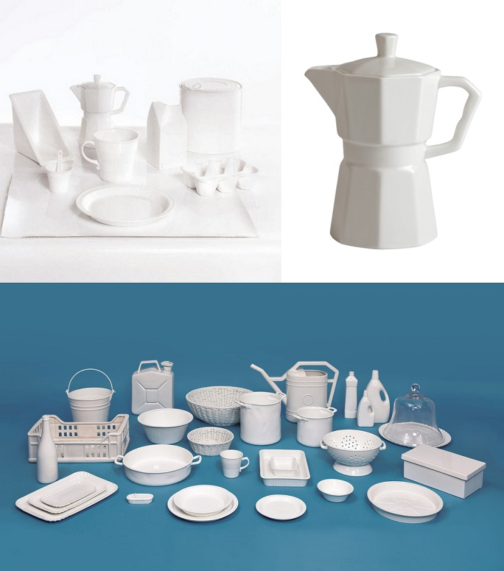 colección estetico seletti porcelana . Objetos de decoracion para sibaritas