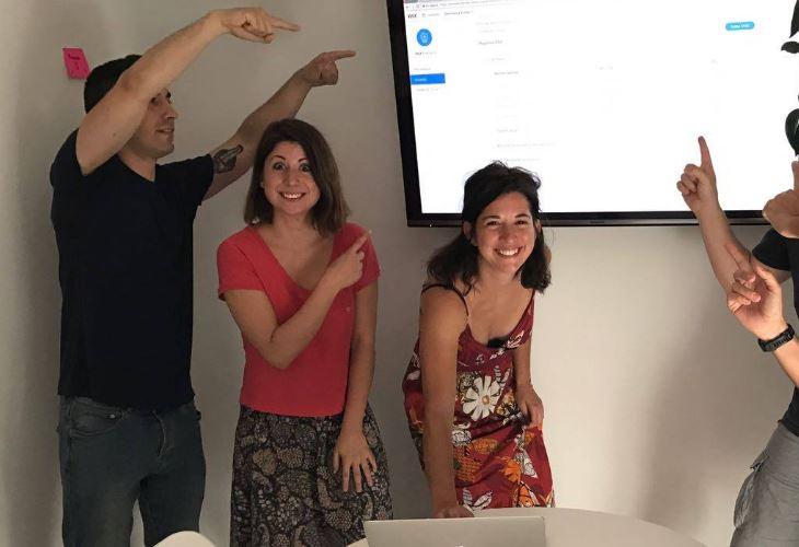 comcosy. Marta Sierra, Pilar Sierra Asientos Vicente Calderón