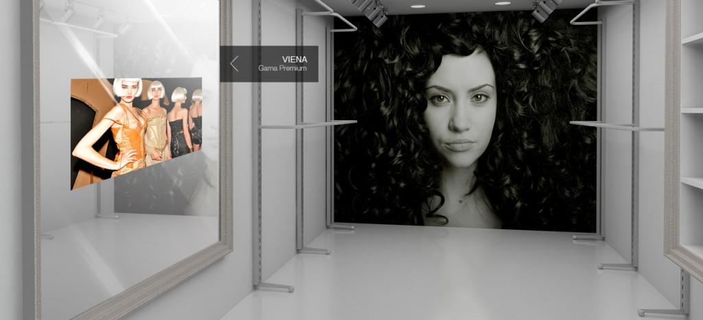 comercial-espacio-tienda-2-viena Miralay televisión espejo. Televisión integrada en espejo