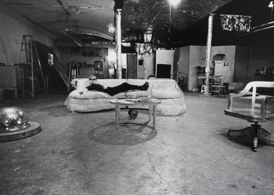 como decorar un loft con estilo . The Factory estudio de Andy Warhol