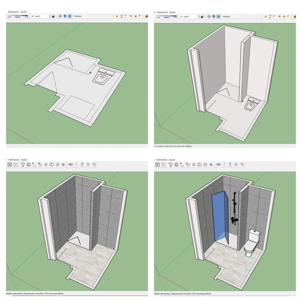 como diseñar con sketchup pro. sorteo sketchup pro shg formacion y 10Deco