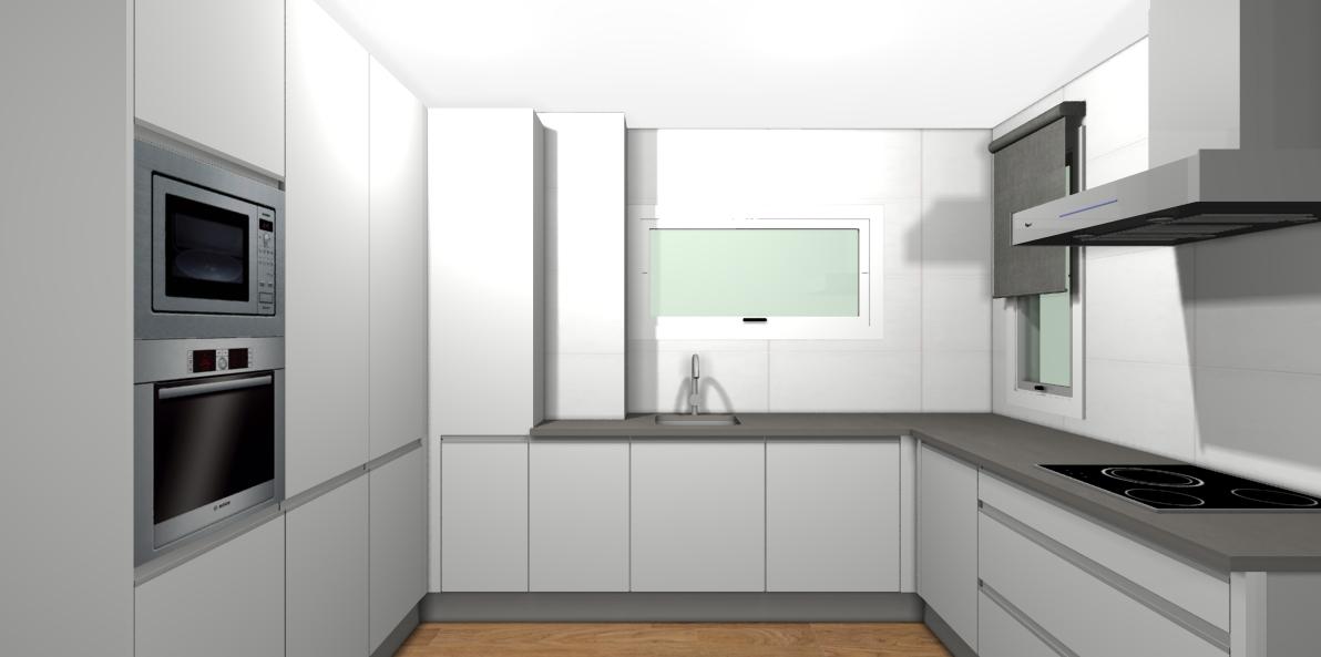 como reformar una cocina paso a paso. proyecto de Carol Sanchez interiorista renders