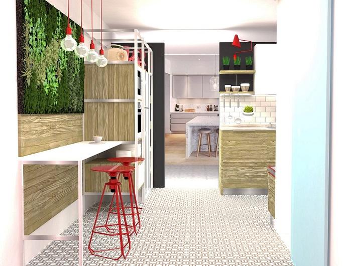 como reformar una cocina paso a paso. proyecto de Carol Sanchez interiorista . Decoración de cocinas.