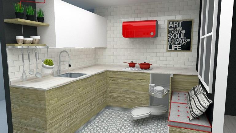 como reformar una cocina paso a paso. proyecto de Carol Sanchez interiorista. Decoración de cocinas.