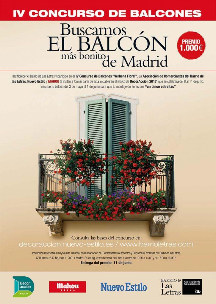 concurso de balcones mahou Decoraccion 2017